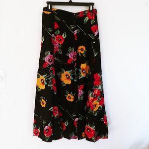 Jacque Koko maxi skirt 22/24